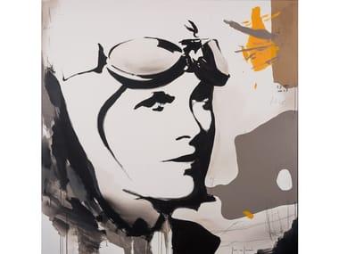 Canvas Painting La mirada