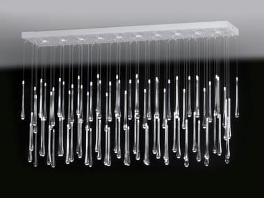 LED direct light PMMA ceiling lamp LACRIMA 6580