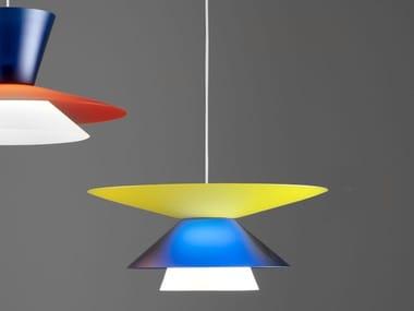 Methacrylate pendant lamp LADY GALALA indoor