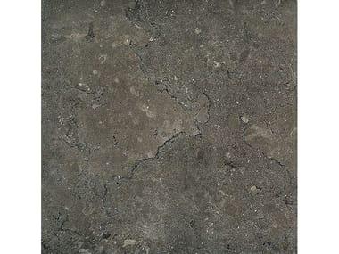 Pavimento/rivestimento in gres porcellanato effetto pietra LAGOS MUD