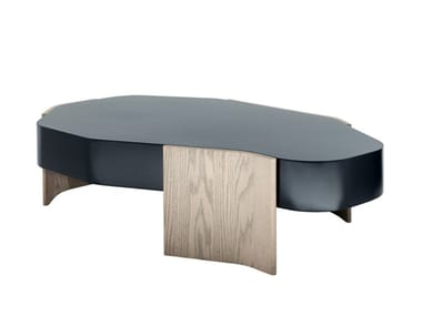 Lacquered MDF coffee table LAKE