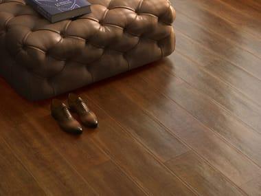 Pavimento/rivestimento in gres porcellanato effetto legno LAKEWOOD BURNT