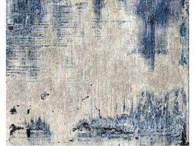 Handmade rectangular rug LAN 10084