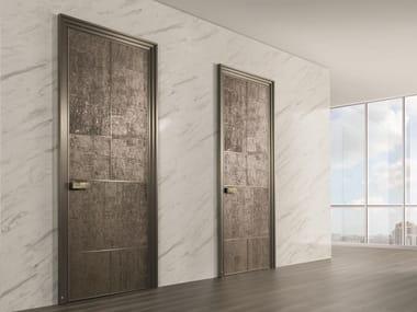 Hinged cork door LAND | Engineered wood door