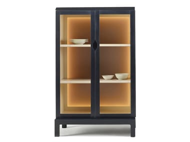 Wood and glass display cabinet LAOS | Display cabinet