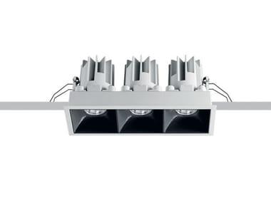 LED recessed die cast aluminium spotlight for false ceiling LASER BLADE L | Spotlight