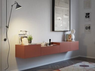 Suspended sideboard with drawers LAUKI   Sideboard with drawers