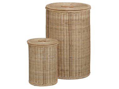 Rattan laundry container VANNERIE | Laundry container