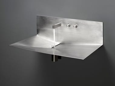 Lavabo sospeso in acciaio inox LAVANDINO