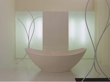 Freistehende ovale Badewanne LAVASCA