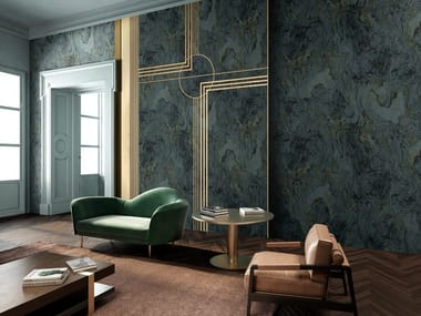 Wallpaper with marble effect LAVISH