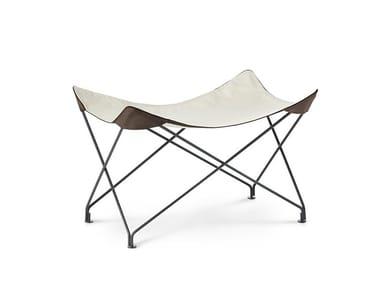 Cotton garden stool LAWRENCE | Stool