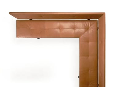 Corner tufted bench LAX | Corner bench