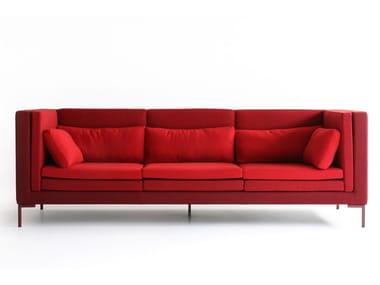 3 seater fabric sofa LAYER | Sofa