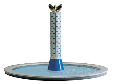 Fontana multigetto in ceramica LE COLONNE