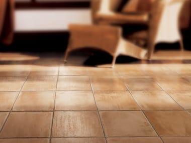Pavimento in gres porcellanato effetto cotto LE MASSERIE BARONE VECCHIO