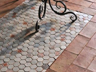 Terracotta mosaic LE MINIATURE