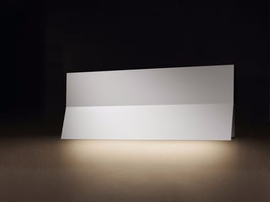 Indirect light aluminium wall light LEA 01