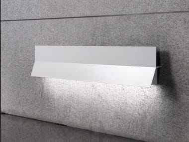 Indirect light aluminium wall light LEA 03