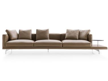3 seater leather sofa DOCK | Leather sofa