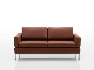 Recliner leather sofa TOMO | Leather sofa