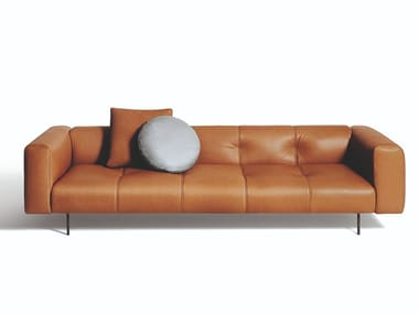 3 seater leather sofa EREI | Leather sofa