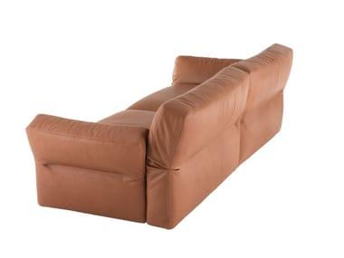 Sectional leather sofa NEIL | Leather sofa