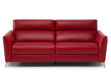 Recliner leather sofa STAN | Leather sofa