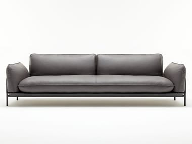 Leather sofa ROLF BENZ 515 ADDIT | Leather sofa