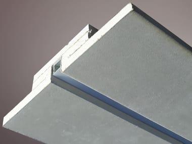 Profilo per illuminazione lineare in gesso per moduli LED LED 016