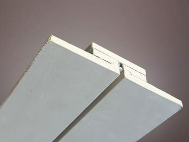 Gypsum Linear lighting profile for LED modules LED 017