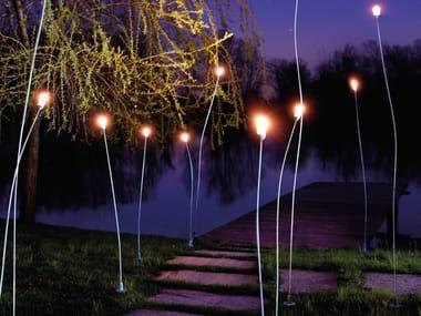 Lampada da terra a LED in ottone MINI MINI | Lampada da terra per esterno a LED
