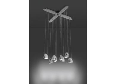 LED metal pendant lamp LED OVAL | Metal pendant lamp
