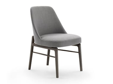 Upholstered chair LEDA | Chair