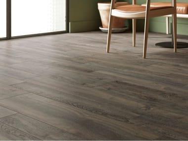 Pavimento/rivestimento in gres porcellanato effetto legno LEGNI HIGH-TECH | Rovere choco