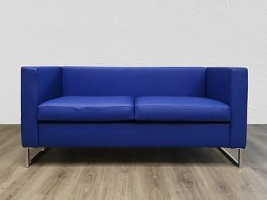 2 seater fabric sofa LEO