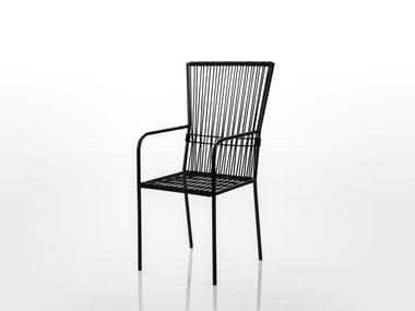 Sedia con schienale alto LES COPAINS MEDIUM | Sedia con schienale alto