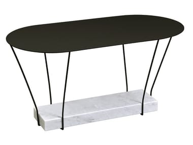 Oval metal coffee table LEST | Oval coffee table