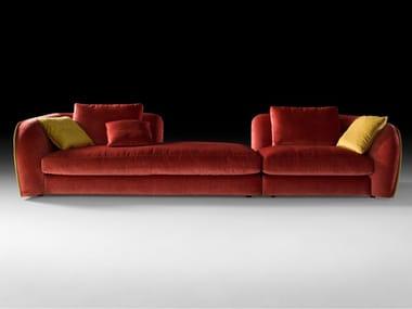 Sofá secional modular de tecido LEVANTE | Sofá de tecido
