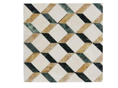 Marble mosaic LEVIGATI A MANO 02