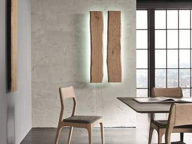 LED wooden wall lamp LH30