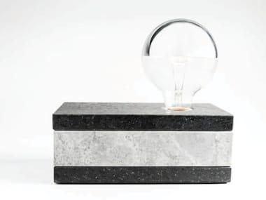 Lampada da tavolo in marmo LIT | Lampada da tavolo in marmo