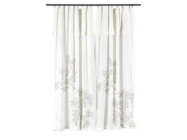 Printed linen curtain LIBECCIU
