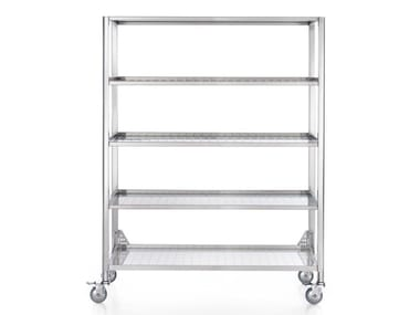 Stainless steel Kitchen trolley LIBERI IN CUCINA | Kitchen trolley ...