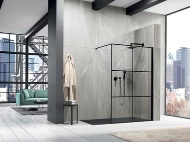 Crystal Walk in shower LIBERO 3000 - PE 6GW L/R