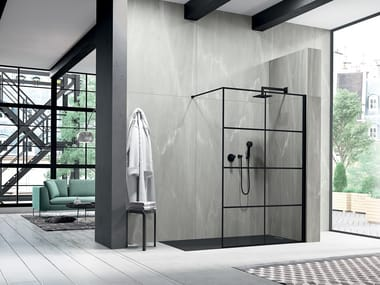 Crystal Walk in shower LIBERO 3000 - PE 8GW L/R