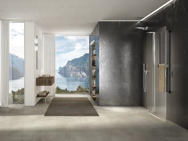 Box doccia in cristallo con porta pivotante LIBERO 4000 - PE 6DT L/R