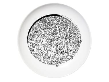 Ceramic dinner plate LIBERTINE
