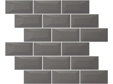Indoor single-fired ceramic wall tiles with brick effect LIBRA MATTE OYSTER