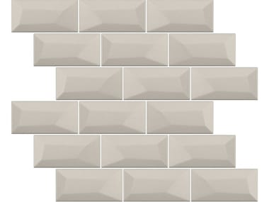 Indoor ceramic wall tiles with brick effect LIBRA MATTE TRUFFLE